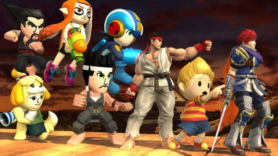 Super Smash Bros. for Wii U & 3DS - Nuevo DLC (Ryu, Roy, Lucas, trajes extras)