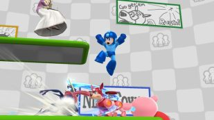 Super Smash Bros. for Wii U - Miiverse Stage (2)