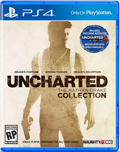 Uncharted The Nathan Drake Collection - Box art