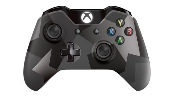 Xbox One - Nuevo modelo de control color negro camuflaje