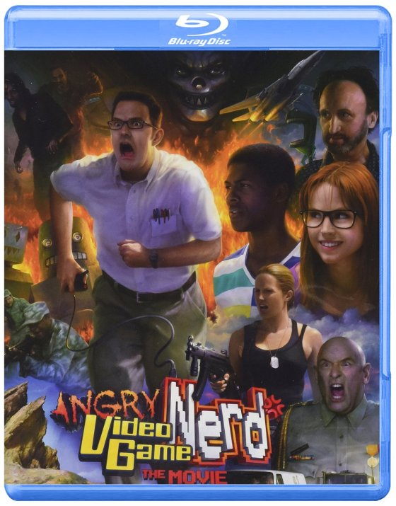 Angry Video Game Nerd The Movie - Box art (Blu Ray)