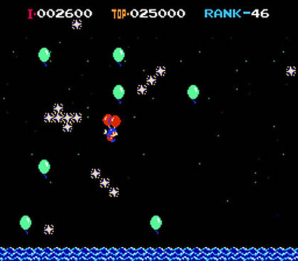 Ballon Fight - Screenshot