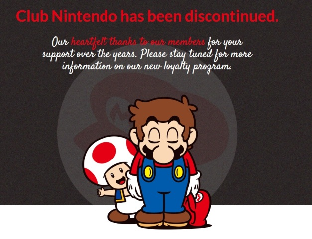 Club Nintendo - Descontinuado