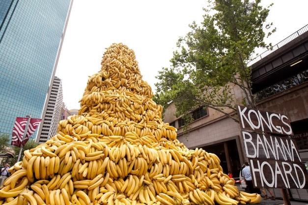 Donkey Kong's Banana Hoard - Vida Real