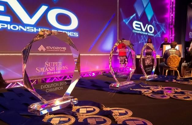 EVO 2015 - Trofeos