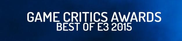 Game Critics Award 2015 - Logo