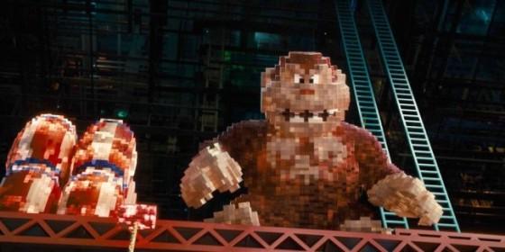 Pixels (2015) - Donkey Kong