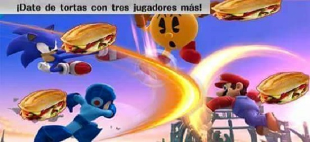 Super Smash Bros - Tortazos