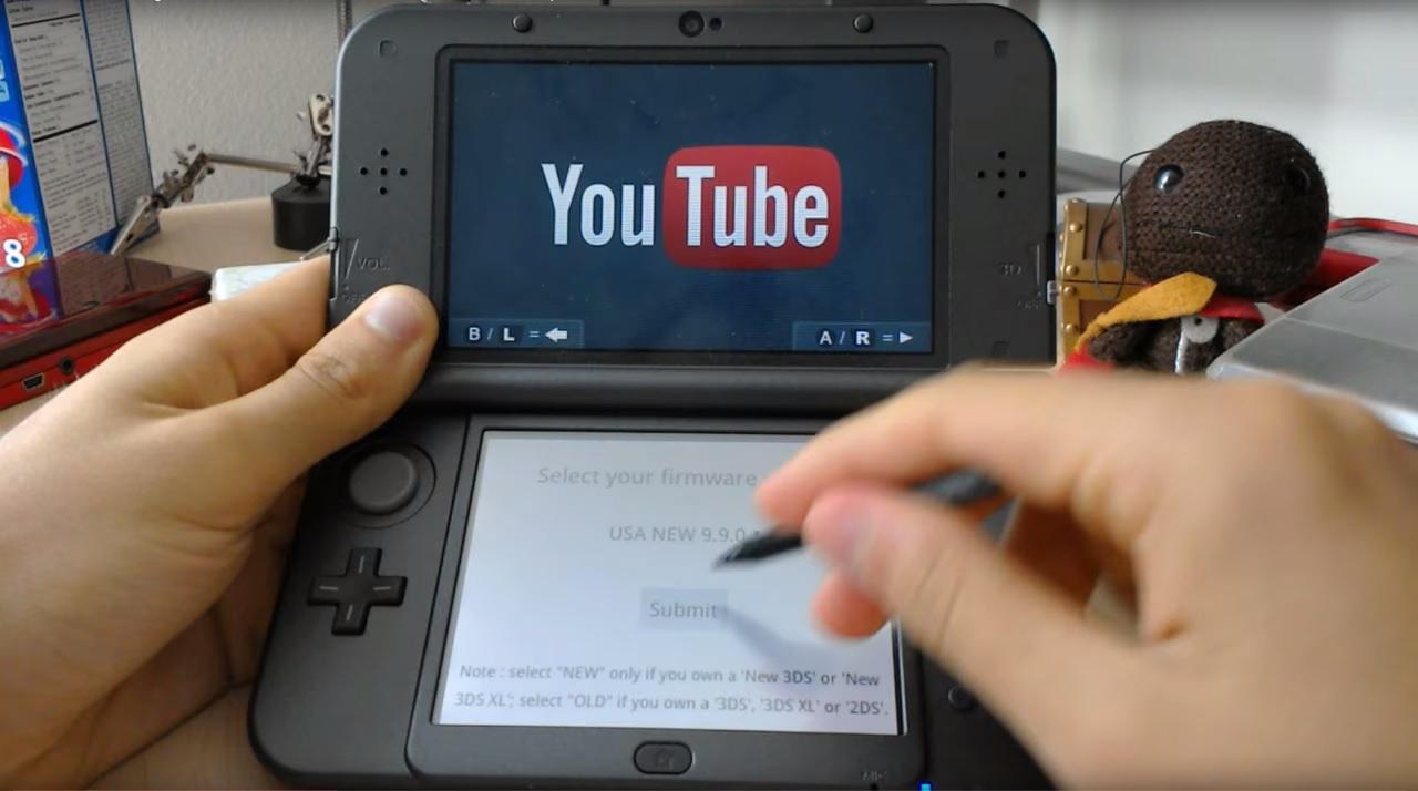 El tubehax para el 3DS permite quitar el bloqueo regional y accesar