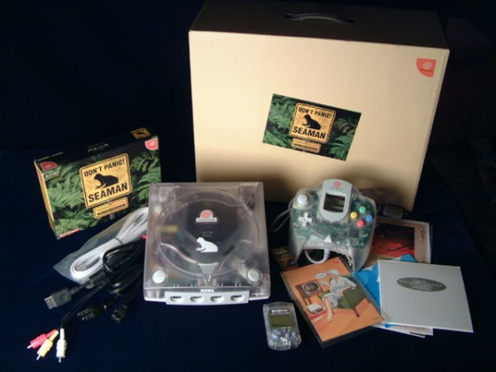 Dreamcast Bundle - Seaman