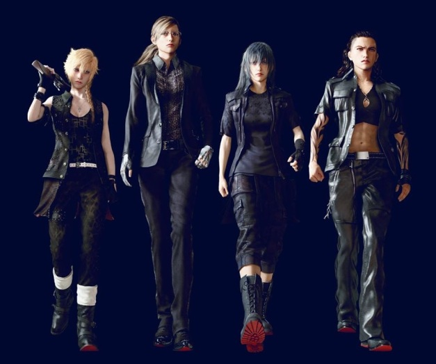 Final Fantasy XV - Chicas rudas