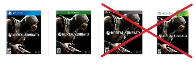Mortal Kombat X - Cancelado juego PS3 & Xbox 360
