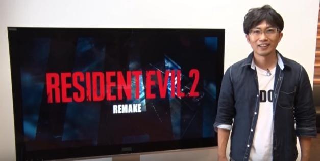 Resident Evil 2 Remake - Anuncio Capcom