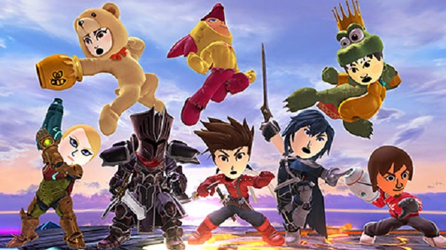 Super Smash Bros. for Wii U & 3DS - Trajes Actualizacion Julio 2015