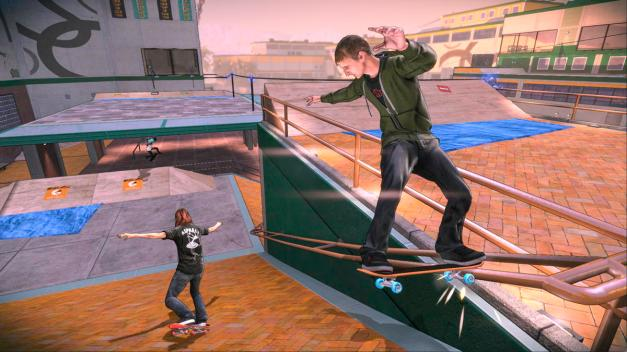 Tony Hawk Pro Skater 5 - Screenshot (nuevo estilo grafico)
