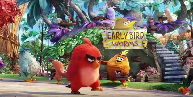 Angry Birds Movie - Screenshot