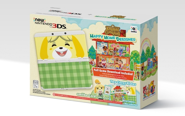 New 3DS - Animal Crossing Happy Home Designer Bundle