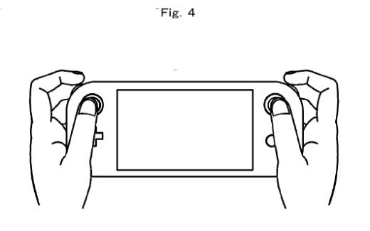 Nintendo - Patente de tablet control con rueditas para hacer scroll