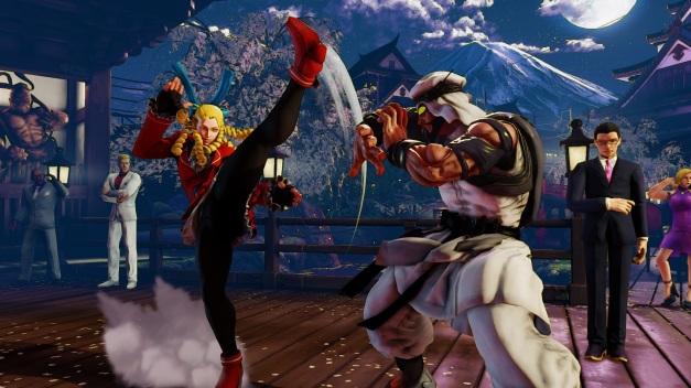Street Fighter V - Karin VS Rashid
