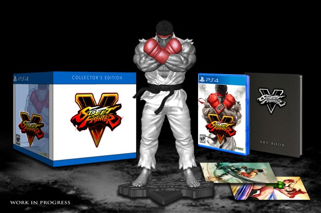 Street Fighter V (PS4) - Collector's Edition