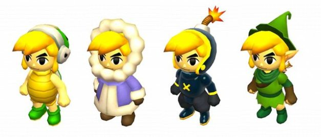 The Legend of Zelda Tri Force Heroes - Trajes especiales (1)