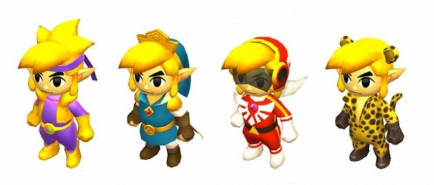 The Legend of Zelda Tri Force Heroes - Trajes especiales (2)