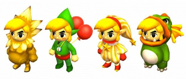 The Legend of Zelda Tri Force Heroes - Trajes especiales (3)
