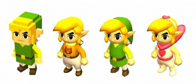 The Legend of Zelda Tri Force Heroes - Trajes especiales (4)