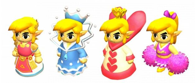 The Legend of Zelda Tri Force Heroes - Trajes especiales (5)