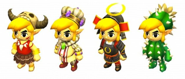 The Legend of Zelda Tri Force Heroes - Trajes especiales (6)