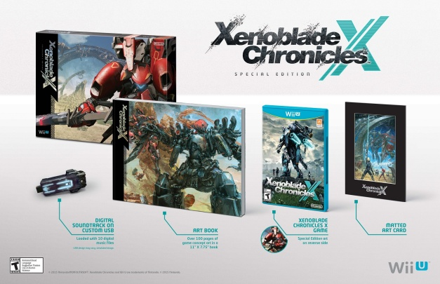 Xenoblade Chronicles X (Wii U) - Special Edition