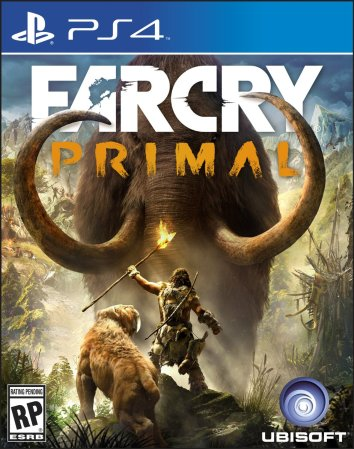 Far Cry Primal - Box art (PS4)