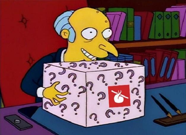 Humble Montly - Caja misteriosa del Señor Burns