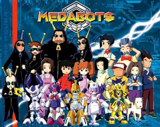 Medabots anime