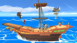 Super Smash Bros. for Wii U & 3DS - Stages Septiembre 2015 (DLC) (Pirate Ship stage)