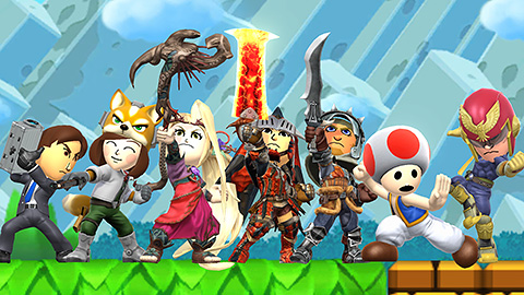 Super Smash Bros. for Wii U & 3DS - Trajes actualizacion Septiembre 2015 (DLC) (Costume bundle) (2)