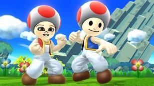 Super Smash Bros. for Wii U & 3DS - Trajes actualizacion Septiembre 2015 (DLC) (Toad Outfit)