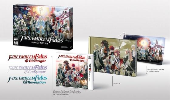 Fire Emblem Fates Special Edition (3DS) - Bundle