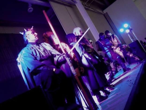 GAMACON 2015 - Escenario (Pasarela cosplay)