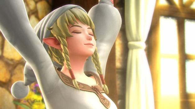 Hyrule Warriors Legends - Linkle Cinemas (1)