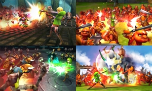 Hyrule Warriors Legends - Linkle Screenshots (2)