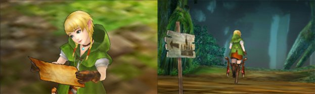 Hyrule Warriors Legends - Linkle Screenshots (3)