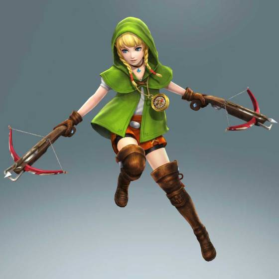 Hyrule Warrriors Legends (3DS) - Linkle