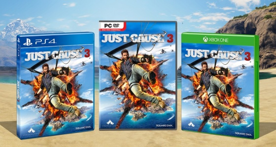 Just Cause 3 - Box art