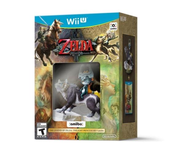 Legend of Zelda Twilight Princess HD (Wii U) - Wolf Link amiibo bundle
