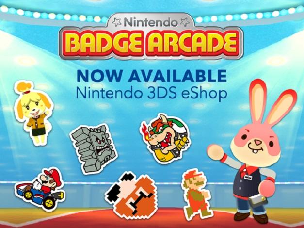Nintendo Badge Arcade - Anuncio de disponibilidad en America