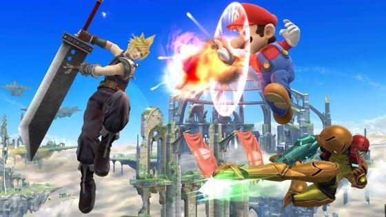 Super Smash Bros. for Wii U - Cloud