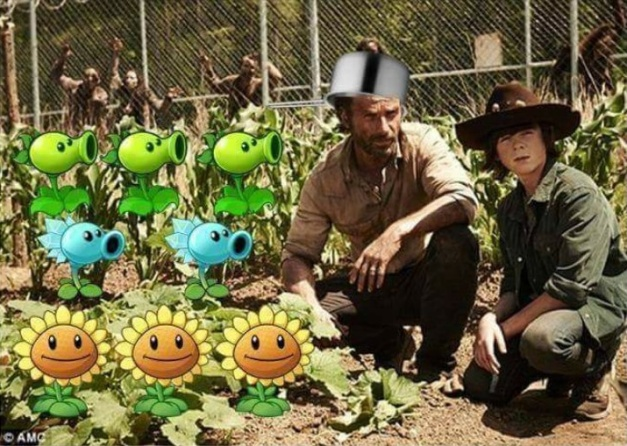 Plants Vs Zombies - The Walking Dead