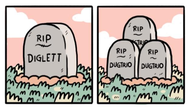 Tumbas Diglett y Dugtrio