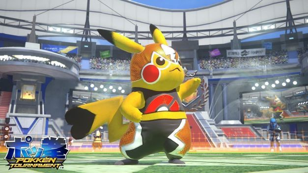 Pokkén Tournament - Pikachu Libre